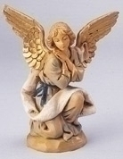 Kneeling Angel Nativity Figurine Fontanini