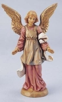 Standing Angel Nativity Figurine Fontanini