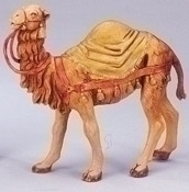Camel with Blanket Nativity Figurine Fontanini