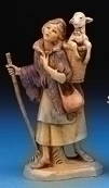 Miriam Nativity Shepherd Figurine Fontanini