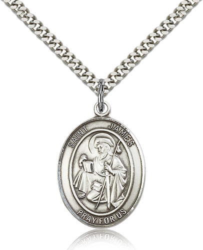 ST. James the Greater  Sterling Silver