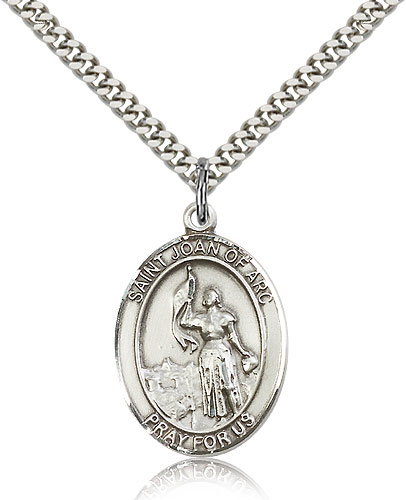 ST. Joan of Arc Sterling Silver