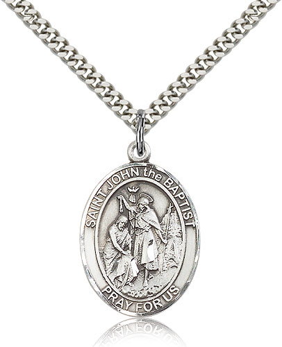 ST. JOHN of GOD Sterling Silver