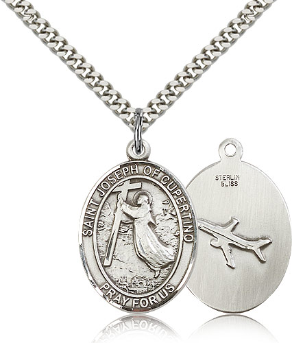 ST. Joseph of Cupertino Sterling Silver