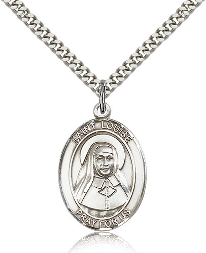 ST. Louise De Marillac Sterling Silver