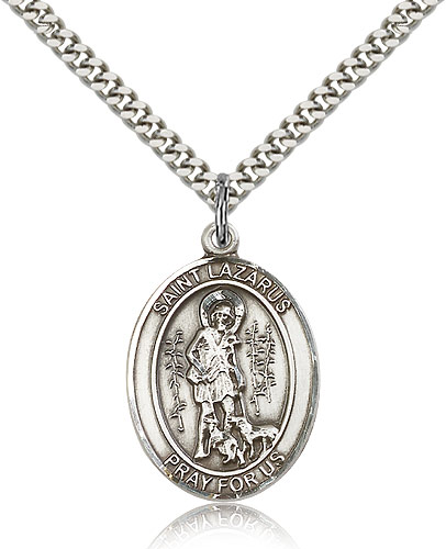 ST. Lazarus Sterling Silver