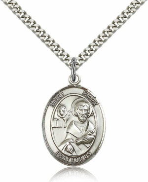 ST. Mark the Evangelist Sterling Silver