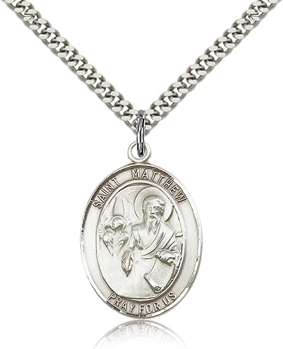 ST. Matthew the Apostle Sterling Silver