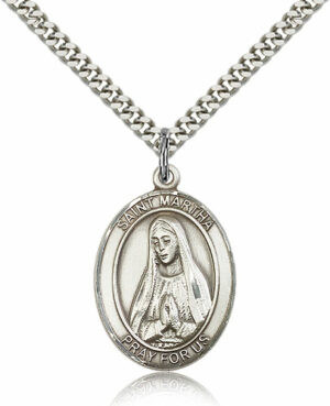 ST. Martha Sterling Silver