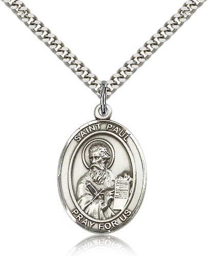 ST. Paul the Apostle Sterling Silver