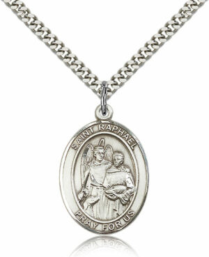 ST. RAPHAEL the ARCHANGEL Sterling Silver