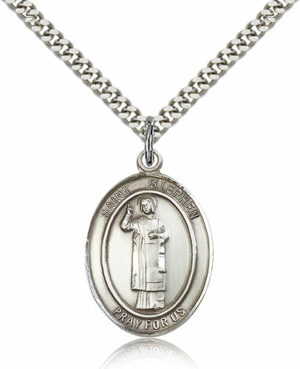 ST. Stephen the Martyr Sterling Silver