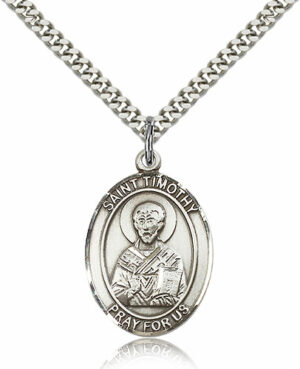ST. Timothy Sterling Silver