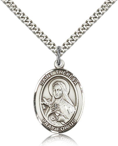 ST. Theresa Sterling Silver