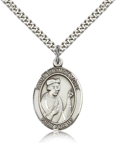 ST. Thomas More Sterling Silver