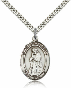 ST. Juan Diego Sterling Silver