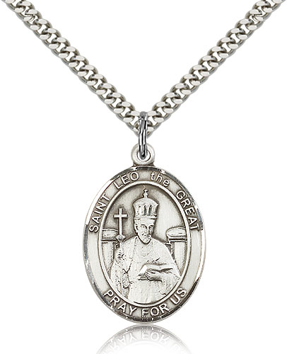 ST. Leo the Great Sterling Silver