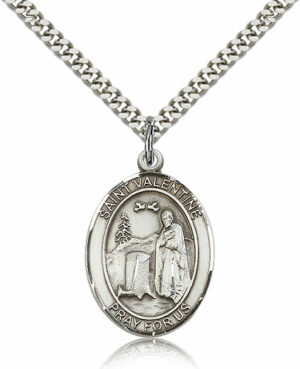 ST. Valentine of Rome Sterling Silver