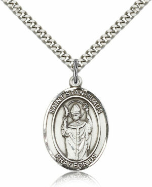ST. Stanislaus Sterling Silver