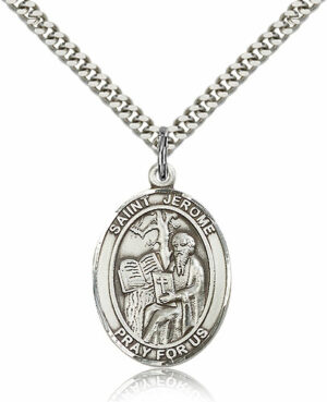 ST. Jerome  Sterling Silver