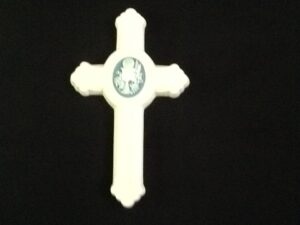 Porcelain First Communion Cross