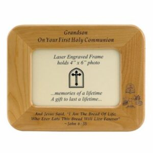 Grandson Communion Picture Frame
