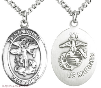 US Marines/St. Michael Medal