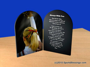Cheerleading Blessings Plaque