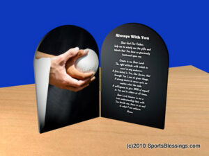 Softball Blessings Plaque