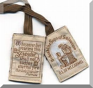 Light Brown Scapular
