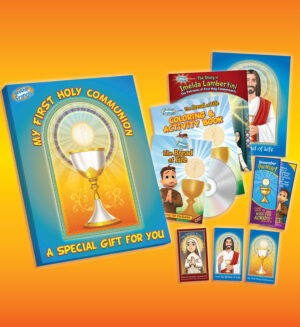 brother francis first communion gift set